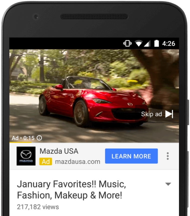 YouTube-TrueView-for-Action-Mazda