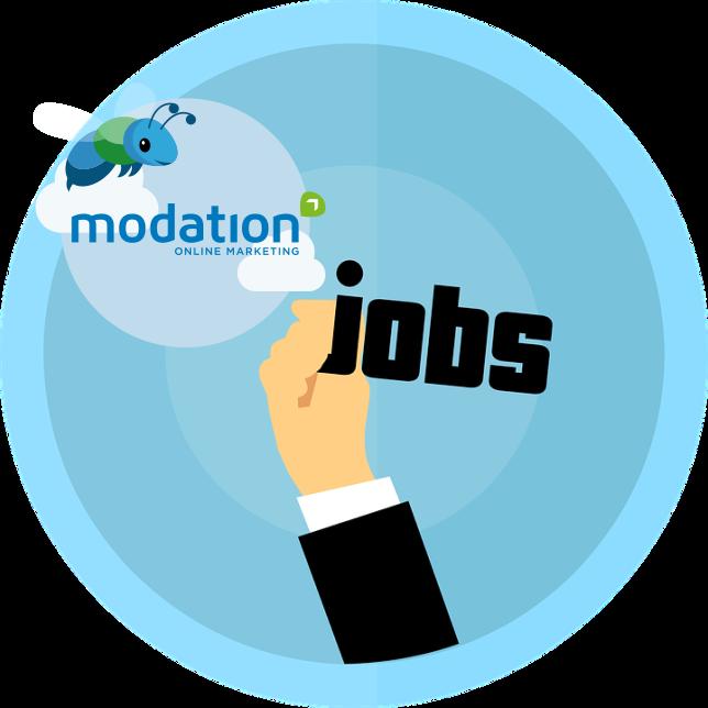 Modation werving en selectie logo