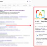 Google-Post-in-zoekresultaten